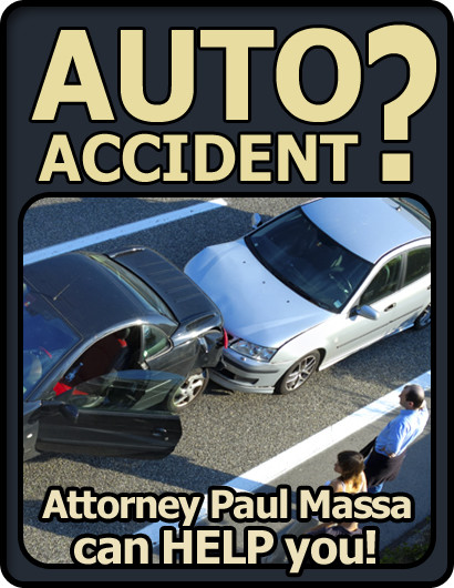 Ascension Parish car, auto and rear end accident Lawyer/Attorney Paul M. Massa | FREE Consultation